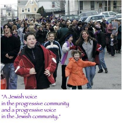 Image of Mishkan adults and children celebrating